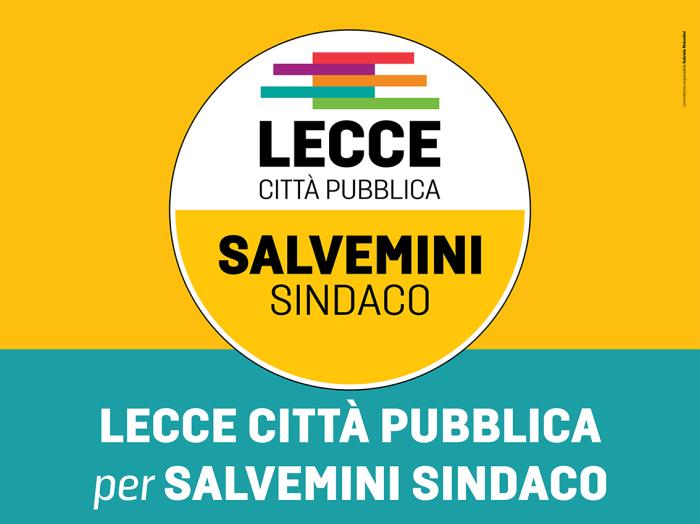 Lecce Città Pubblica Manifesto
